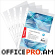 Pocket-file A4, polyethylene, 30 microns, transparent, 100 pcs in a pack.