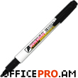 "Marker ""WB 505"" for dry white board, black"