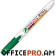 "Marker ""WB 505"" for dry white board, green"