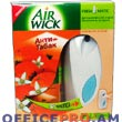 Automatic spray - freshner AirWick. You can use the adjuster to control the fragrance intensity to suit your mood. Also botton is available for additional freshning.