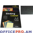 Binding cover, A4, 235 gsm, black.