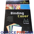 Binding cover, A4, 235 gsm, blue.