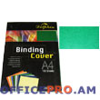 Binding cover, A4, 235 gsm, green.