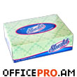 Napkins, 60 pcs., two-ply, in rectangular box, size 15 x 4.7 x 11 cm.