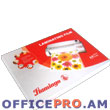 Laminating film, A4, 125 microns, 100 pcs.