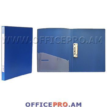 Folder with clip, A4 format.